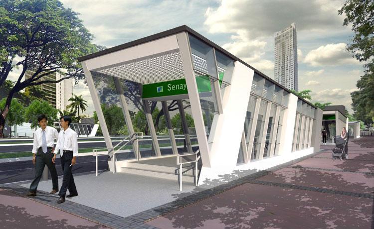 Stasiun Senayan